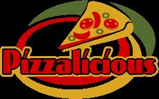 Pizzalicious Pizza Logo